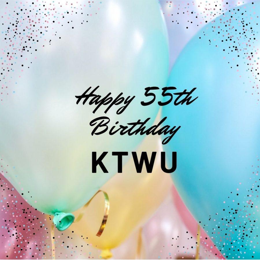 Last+week+KTWU+celebrated+its+55th+birthday.