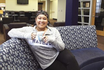 Spilling tea: Anna-Marie Lauppe is graduate student getting psychology. She writes this column to share her beliefs with the Washburn community.