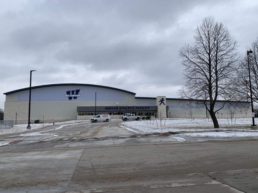 Up-to-date: This is the new Indoor Facility for Washburn University Athletics. It has already seen a lot of use and will continue to be a cornerstone of the Washburn community for years to come.