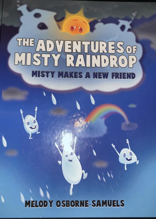 Misty made the cover: This is the cover page of Melody Osborne-Samuels book. It is one of many covers that Misty will be featured on.