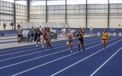 Leave it all on the track: In the 60-meter dash, Mandana Vouillemin in lane five finished 1st with a time of 7.92. Isabella Hohl in lane four came in 3rd with a time of 8.01.
