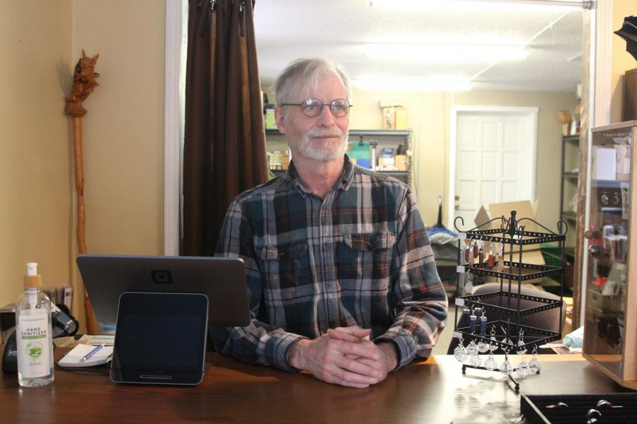 Man+of+Faith%3A+Owner+Ken+Liddle+has+been+practicing+Wicca+and+running+the+store+for+many+years.+He+says+that+his+practice+has+given+him+a+sense+of+responsibility+and+faith.