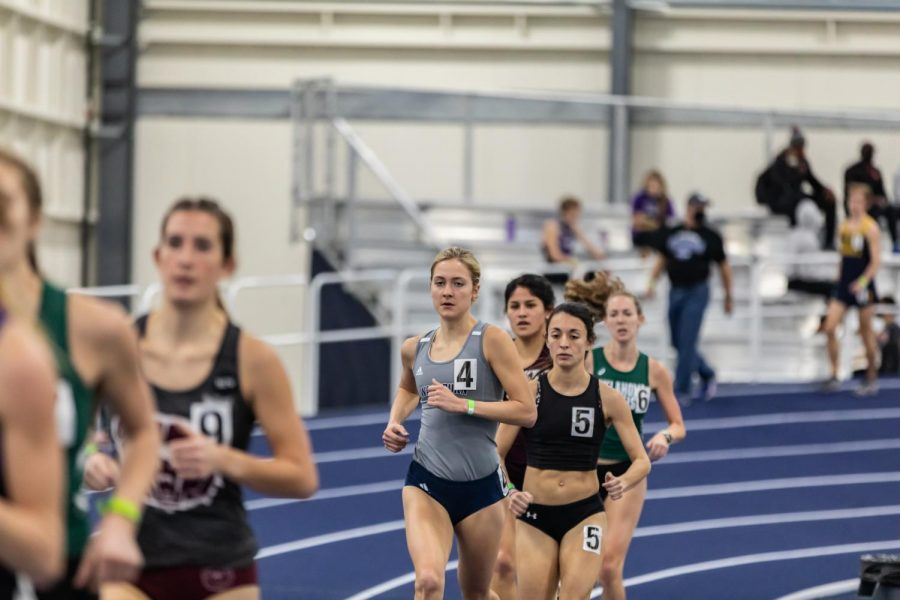 Born to Run: Washburn's Sierra Mortensen is running strong and steady in the women's 3000-meter.