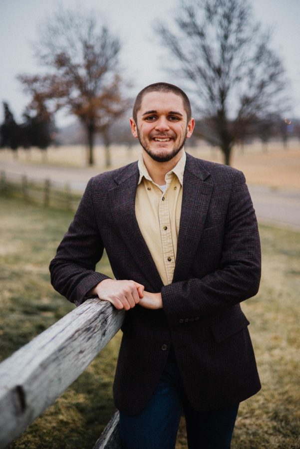 Adam Young,  Senior,  Political Science