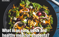 Bod on the Block: Faculty suggest easy meals