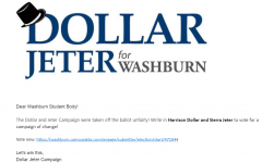 Urgent: This is a statement released to some of the student body via email that the Dollar/Jeter campaign put out.
