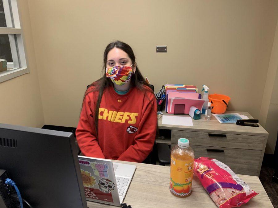 Analisa Chavez-Munoz  Junior majoring in Public Education