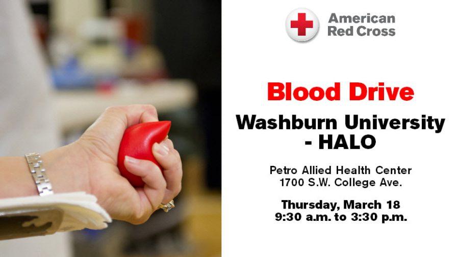 washburn HALO blood drive