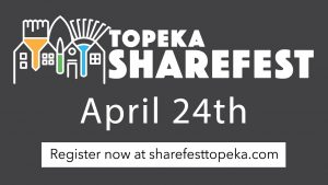 Change for the better: Sharefest works to improve schools in the Topeka community. Sign up now to help out with their efforts.