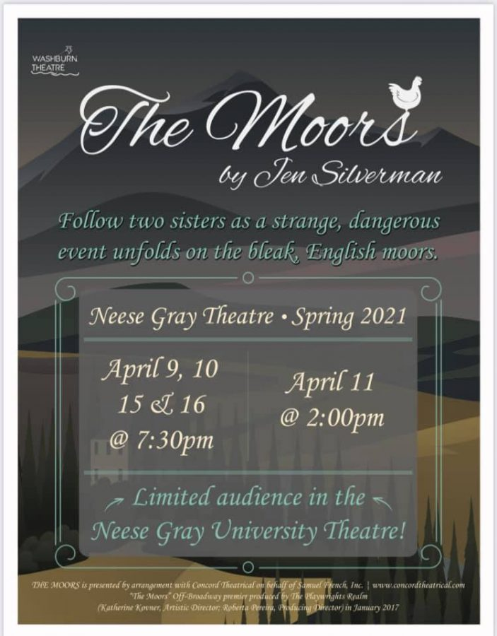 "From across the water: ""The Moors"" is a riveting play focused on themes of dark comedy and power. Get your tickets now as there is limited seating."