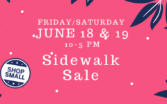 Shop small sidewalk sale: Fairlawn Plaza's sidewalk sale kicks off this Friday with events through Saturday afternoon.