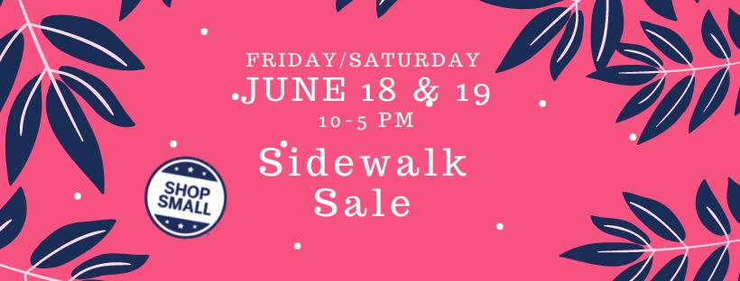 Shop small sidewalk sale: Fairlawn Plaza