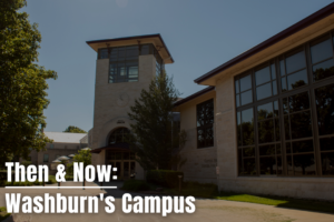 Through the years: Washburn's campus has experienced its fair share of destruction and growth. Follow along and explore the many changes campus buildings have gone through, from then to now.