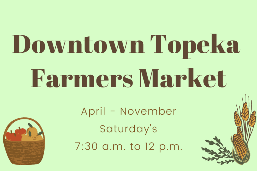Taste of Topeka: On Saturday mornings, Downtown Topeka hosts over 100 vendors that feature farm-fresh produce, handmade crafts and just about anything else you can think of.