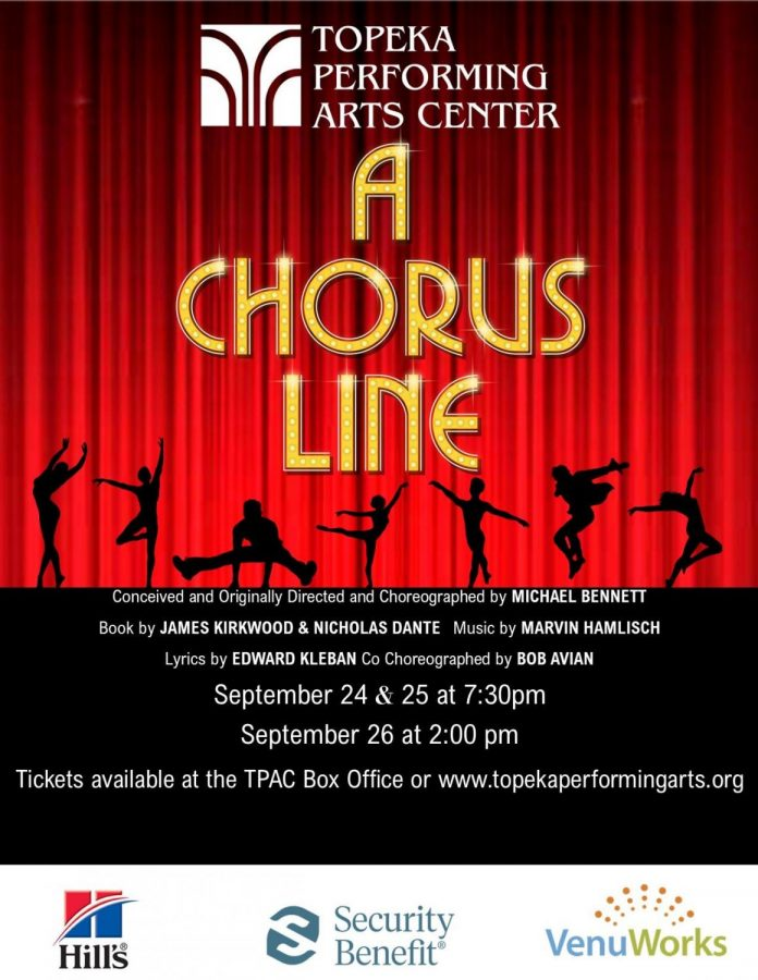A Chorus Line: TPAC will be hosting this iconic show with opening-night being Sept. 24.