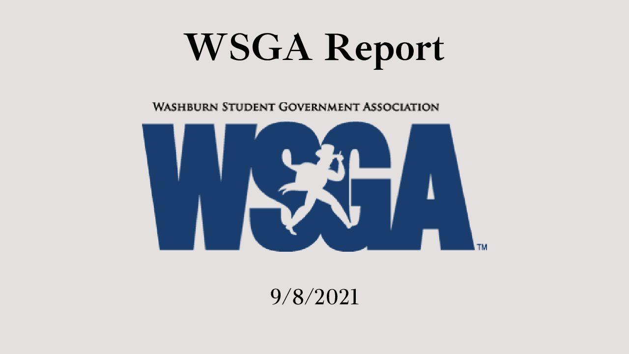 WSGA Report 9/8/21
