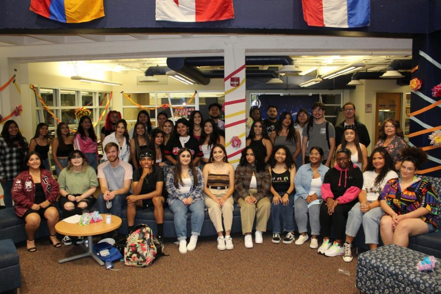Together again: Celebrating Hispanic Heritage month helped all the members of HALO get together. This event had a lot of help from the students whether it be decorating or planning, each did a great job.
