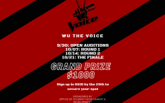 The Voice comes to Washburn and offers $1,000 prize