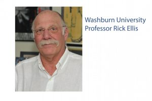 Unforgettable: Professor Rick Ellis died Sept. 23, 2021. He will be missed by his coworkers and students at Washburn University.