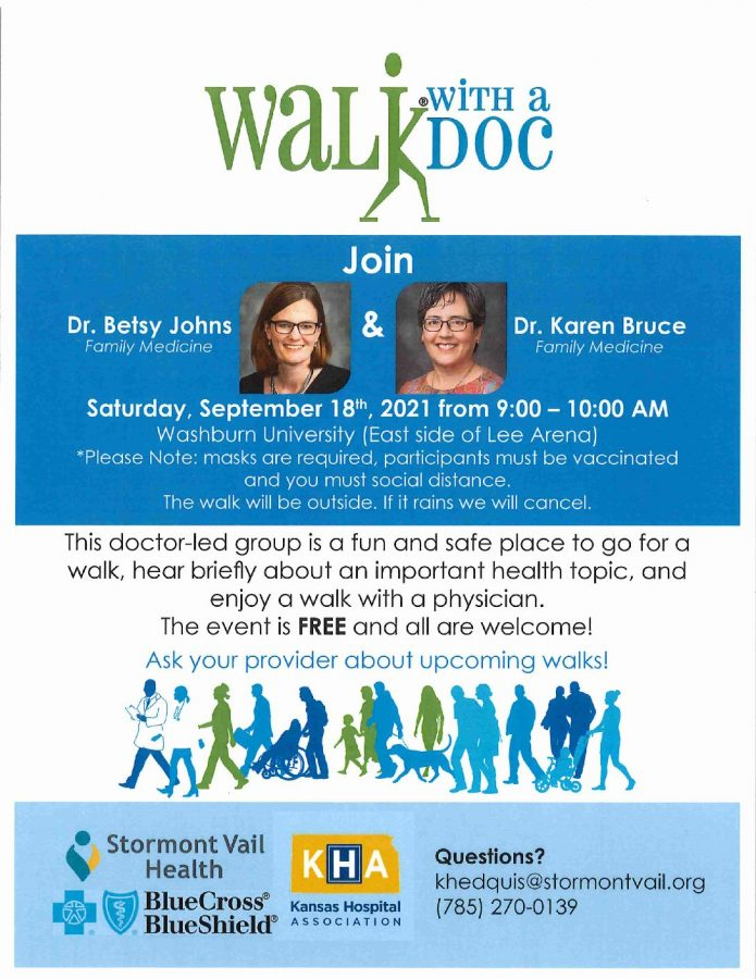 Bod Brief: Walk with a Doc comes to Washburn