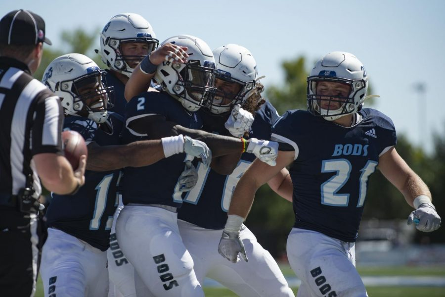 Hype+him+up%3A+Teammates+celebrate+with+Washburn+University+wide+receiver+Peter+Afful+%282%29+after+scoring+a+touchdown+Saturday%2C+Sept.+25%2C+2021%2C+in+Topeka%2C+Kan.+The+Ichabods+won+47-41+over+Missouri+Western+State+University.
