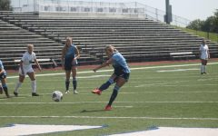 GOAL: Senior midfielder Tera Lynch scores the second goal in Washburns 2-1 victory against Augustana.