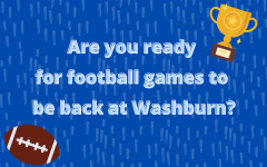 It's back: Football returns to Washburn after a year off due to COVID-19.