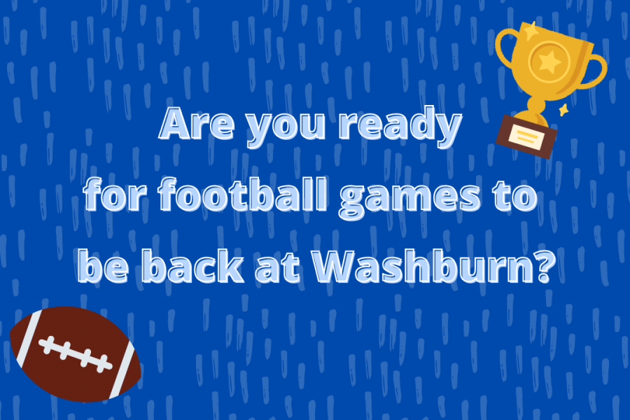 Its back: Football returns to Washburn after a year off due to COVID-19.