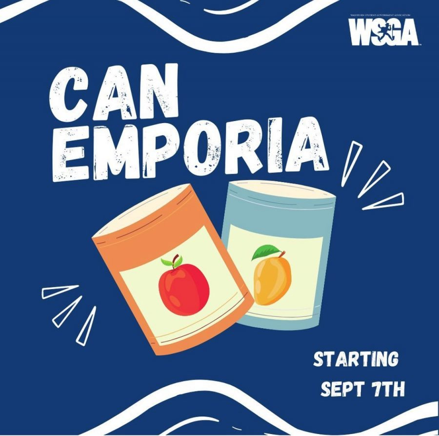 Can Emporia is a canned food drive competition with Emporia State University. Donations will be accepted until October 30th.