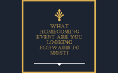 Bods on the block: What homecoming event are you looking forward to most