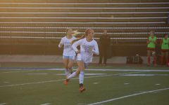 Active energy: Washburn defender Mattie Miano runs towards the ball on Oct. 22, 2021. Miano played all 108 minutes of the match against Central Missouri.