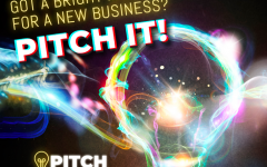 Pitch it real good: The School of Businesss annual pitch competition is in full swing. Students come together to pitch business startup ideas for a chance to win $25,000
