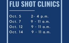 Schedule: Students and staff can contact the Student Health Services office for scheduling their vaccines. The cost for students is $15.